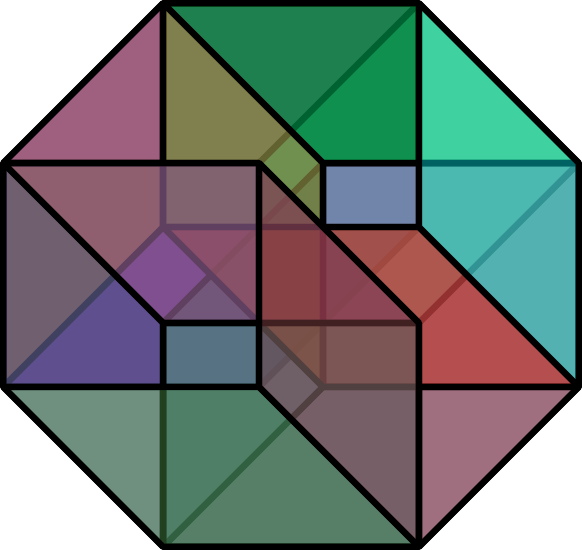 the dilettante draw a hypercube hipnerd